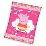 Fleece deka Peppa Pig Baletka 110/140