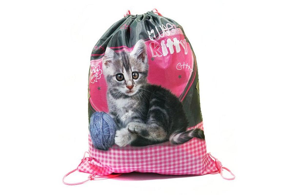 BENIAMIN Taška na tělocvik a přezůvky Sweet Pets Koťátko Polyester, 34x43 cm