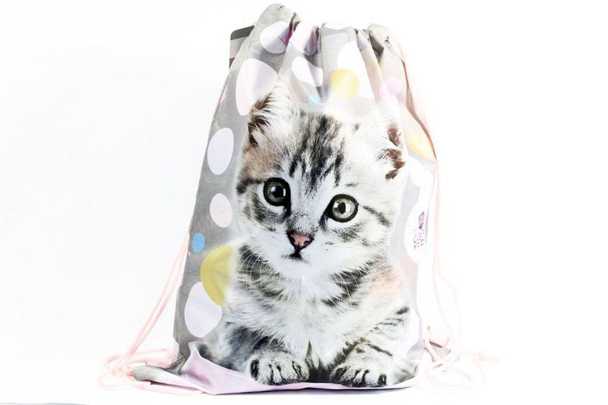 Taška na tělocvik a přezůvky Sweet Pets Kotě