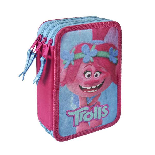 Třípatrový penál plný Trollové Poppy