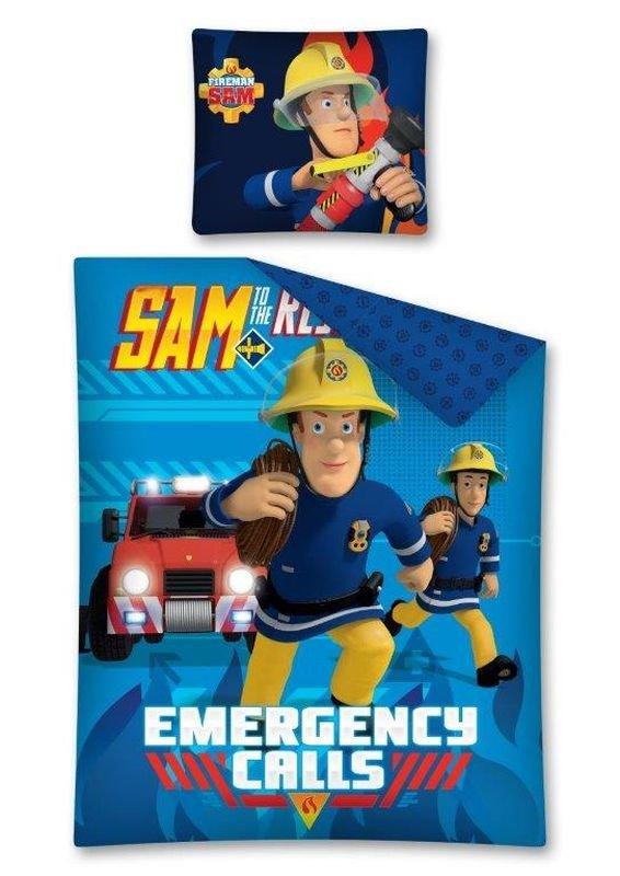 DETEXPOL Povlečení Požárník Sam Emergency  Bavlna, 140/200,  cm