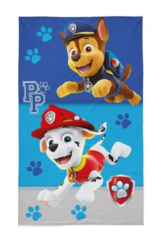 DETEXPOL Dětský ručník Paw Patrol Chase a Marshall  Bavlna - Froté, 50/30 cm