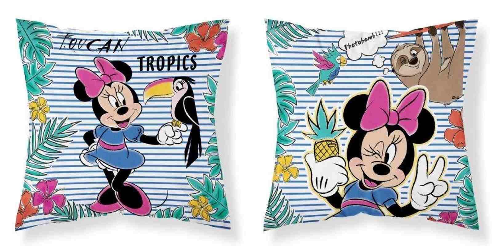 Povlak na polštářek Minnie paradise micro 40/40