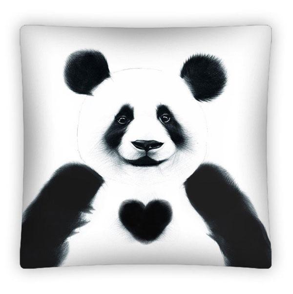 Povlak na polštářek Panda micro 40/40 - povláčky na polštářky