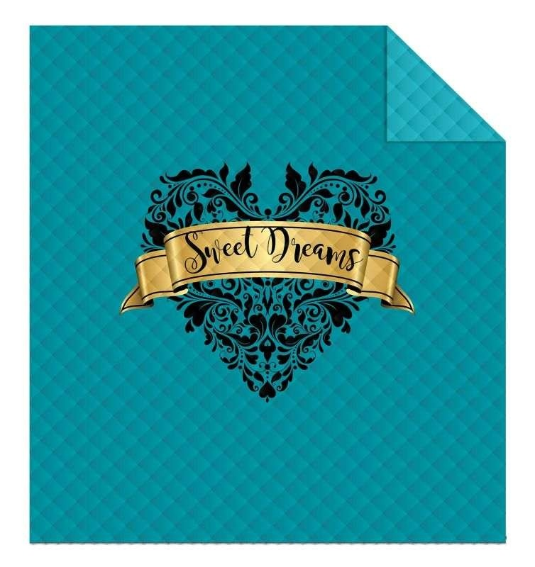 DETEXPOL Přehoz na postel Sweet Dreams  Polyester, 220/240 cm