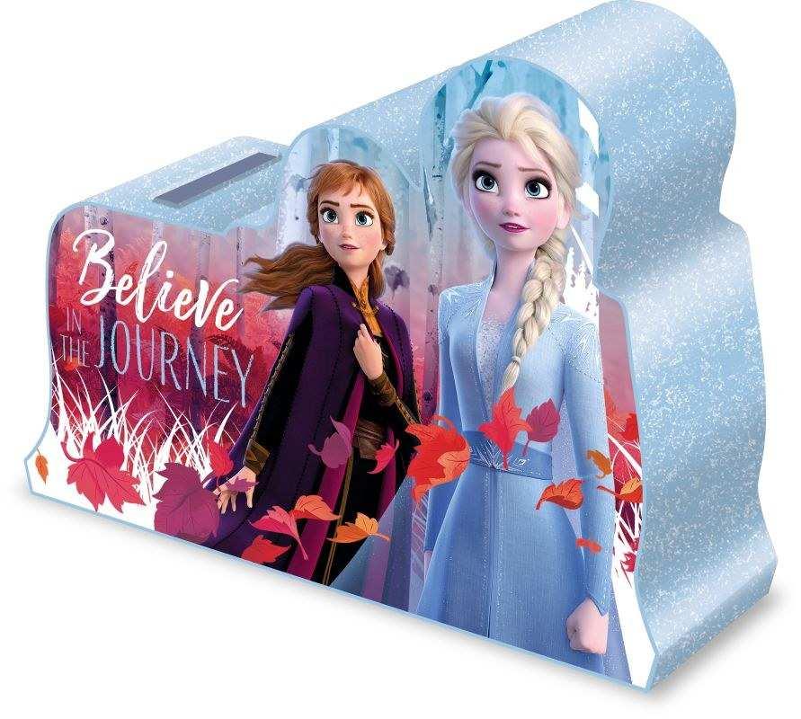 EUROSWAN Pokladnička 3D Ledové Království 2 Plast