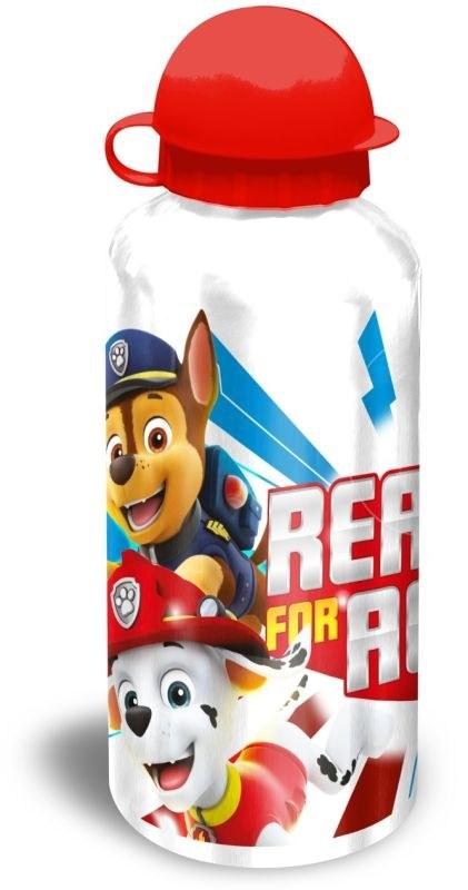 EUROSWAN ALU láhev Paw Patrol bílá  Hliník, Plast, 500 ml