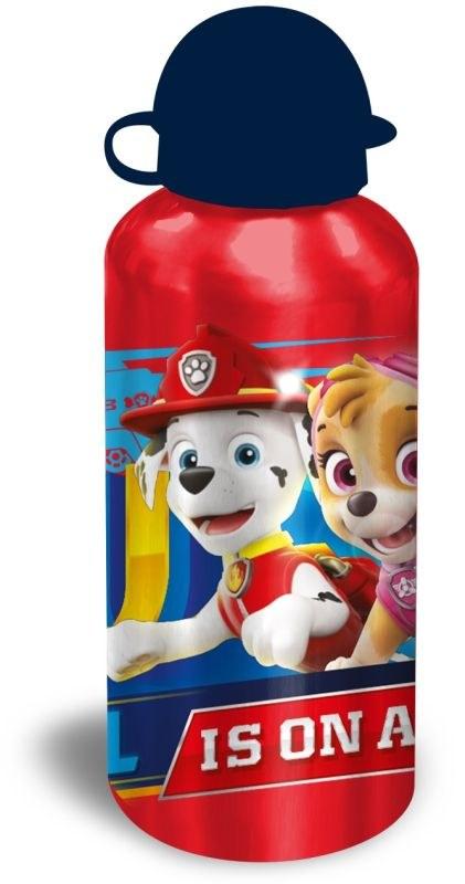 EUROSWAN ALU láhev Paw Patrol červená  Hliník, Plast, 500 ml