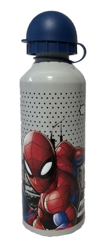 EUROSWAN ALU láhev Spiderman grey  Hliník, Plast, 500 ml
