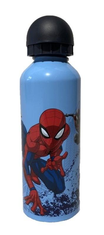 EUROSWAN ALU láhev Spiderman blue  Hliník, Plast, 500 ml