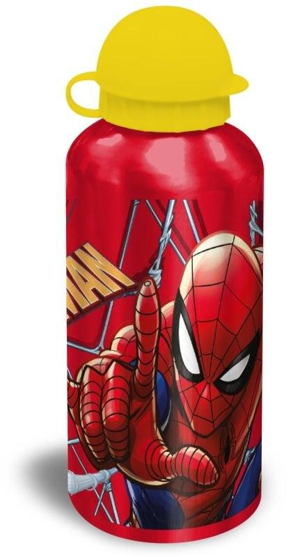 EUROSWAN ALU láhev Spiderman red  Hliník, Plast, 500 ml