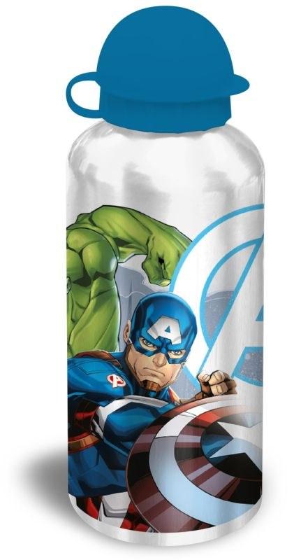 EUROSWAN ALU láhev Avengers silver  Hliník, Plast, 500 ml