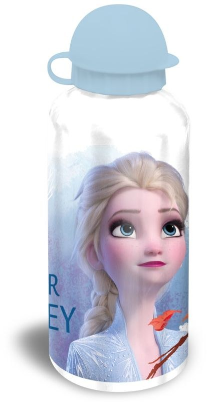 EUROSWAN ALU láhev Ledové Království 2 bílá Hliník, Plast, 500 ml