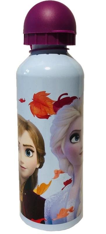 EUROSWAN ALU láhev Ledové Království 2 Anna a Elsa Hliník, Plast, 500 ml