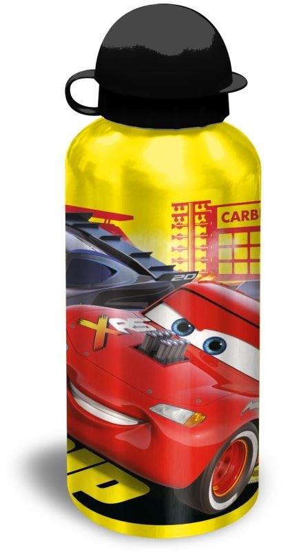 EUROSWAN ALU láhev Cars yellow  Hliník, Plast, 500 ml