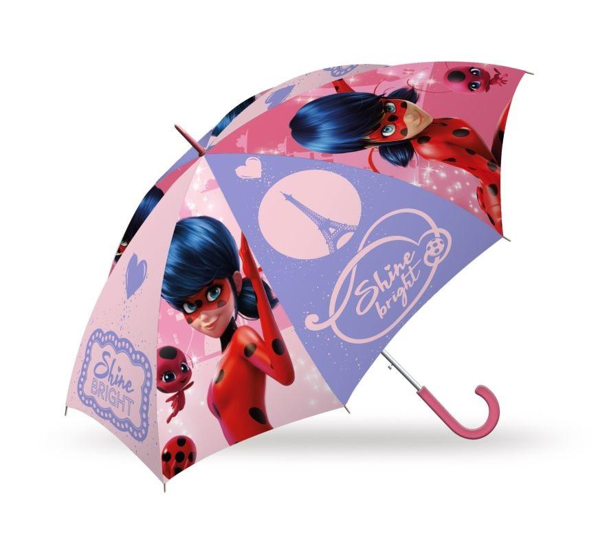 EUROSWAN Vystřelovací deštník Kouzelná Beruška Paříž Polyester, průměr 85 cm
