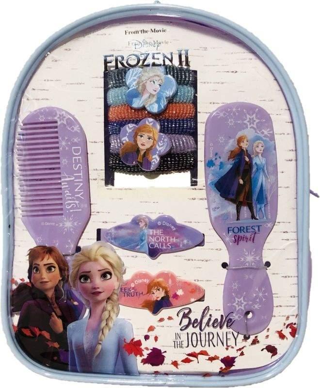 EUROSWAN Sada vlasových doplňků v batůžku Ledové Království 2 Forest