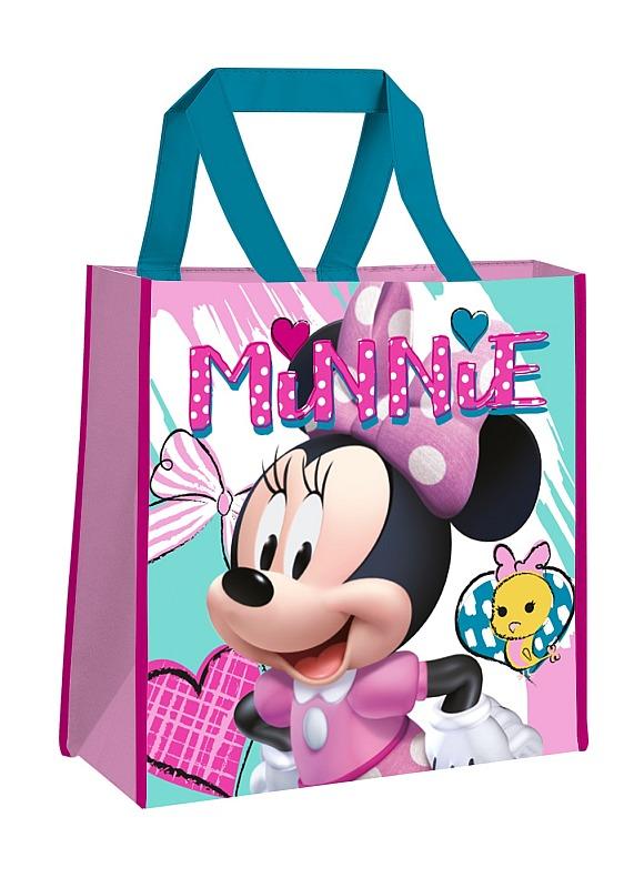 EUROSWAN Dětská nákupní taška Minnie hearts  Polypropylen, 38 cm