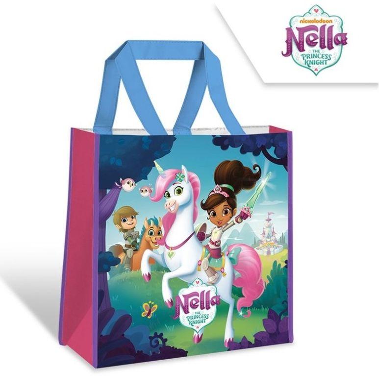 Dětská nákupní taška Princezna Nella a jednorožec 38 cm