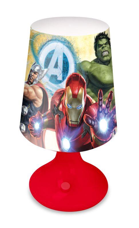 Noční stolní LED lampička Avengers