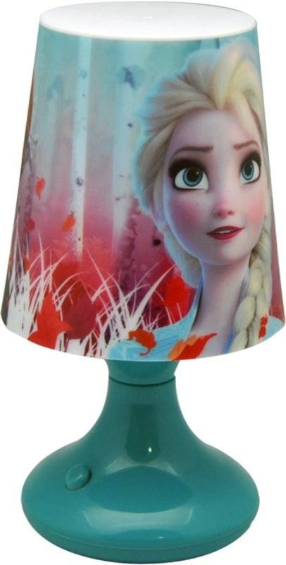 EUROSWAN Noční stolní LED lampička Ledové Království 2 Anna a Elsa Plast