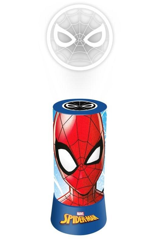 EUROSWAN LED projektor Lampička Spiderman Plast, 19x9 cm