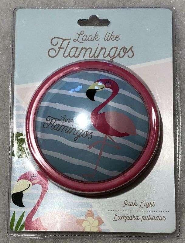 Dotyková LED lampička Plameňák