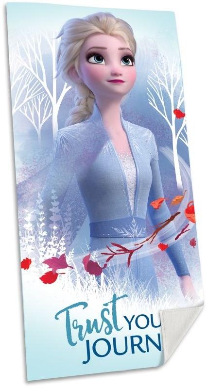 EUROSWAN Osuška Ledové Království 2 Elsa Bavlna - Froté, 70/140 cm