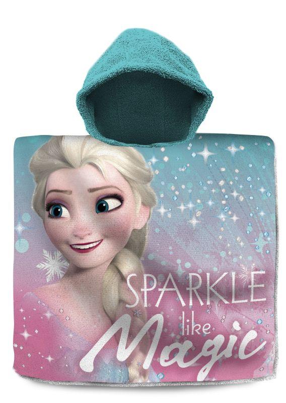 Pončo Ledové Království Elsa Magic 60/120