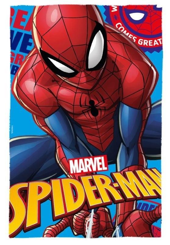 EUROSWAN Fleece deka Spiderman  Polyester, 100/150 cm