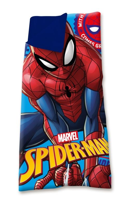 EUROSWAN Spací pytel Spiderman  Polyester, 68/138 cm