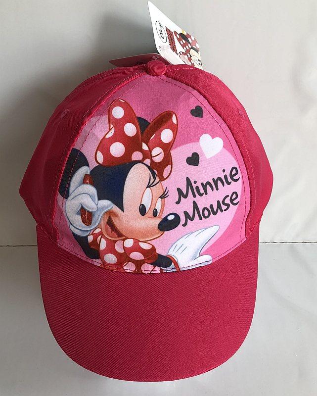 EUROSWAN Kšiltovka Minnie růžová vel.54  Polyester