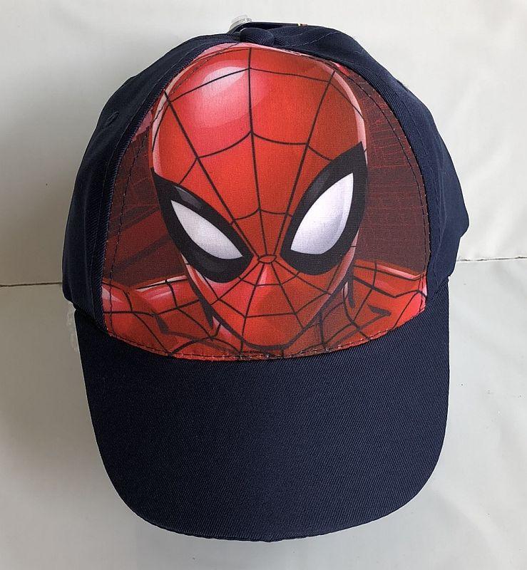 EUROSWAN Kšiltovka Spiderman vel.52  Polyester