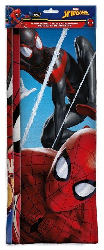 EUROSWAN Sada 3 ks dětských ručníků Spiderman micro Polyester, 30/40 cm