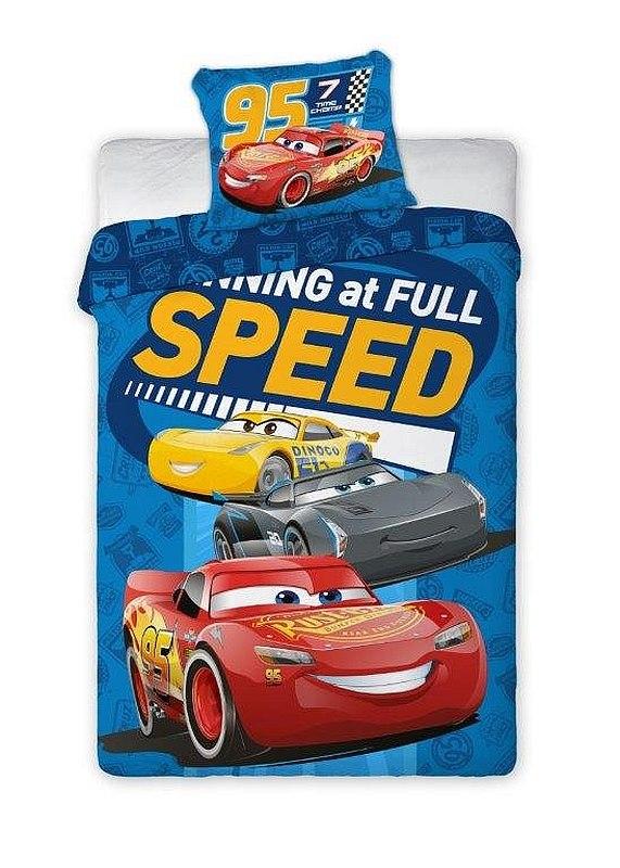 Povlečení Cars 3 Speed 140/200, 70/90