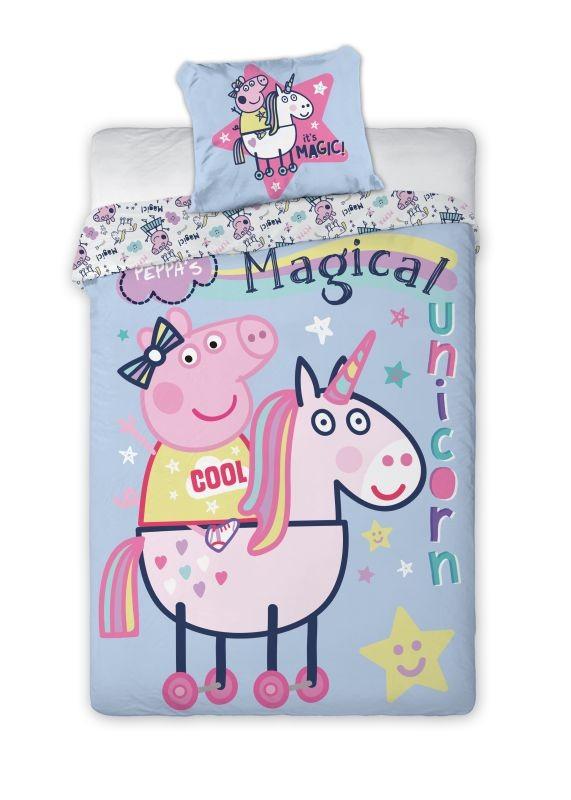 Povlečení Peppa Pig magic 140/200, 70/90