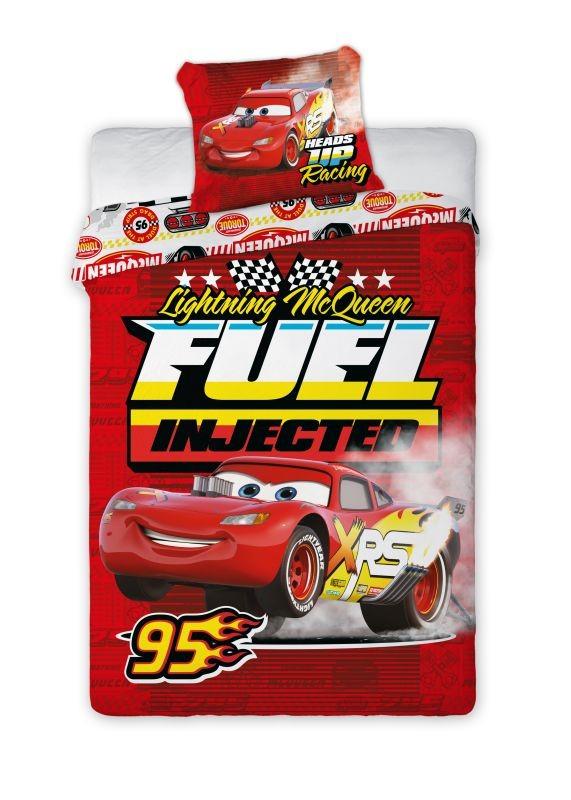 Povlečení Cars 3 Fuel 140/200, 70/90