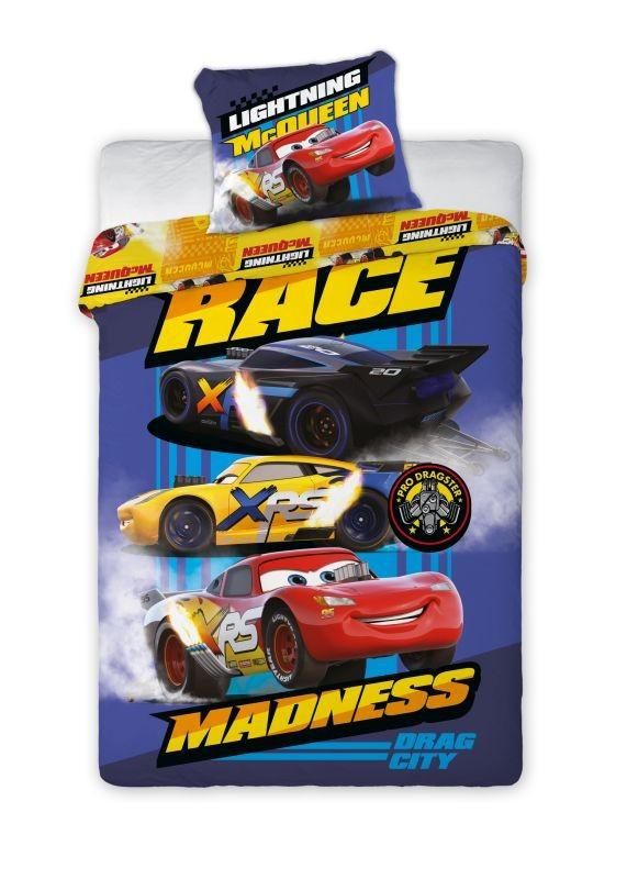 Povlečení Cars 3 Race 140/200, 70/90