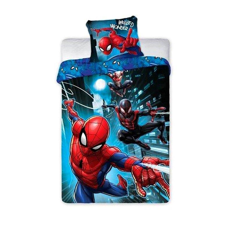 FARO Povlečení Spiderman noc  Bavlna, 140/200, 70/90 cm