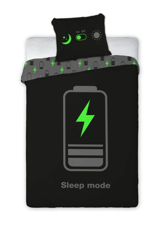 FARO Povlečení Sleep Mode svítící  Bavlna, 140/200, 70/90 cm