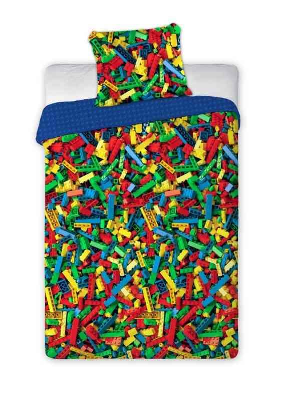 FARO Povlečení Kostky Colorful  Bavlna, 140/200, 70/90 cm
