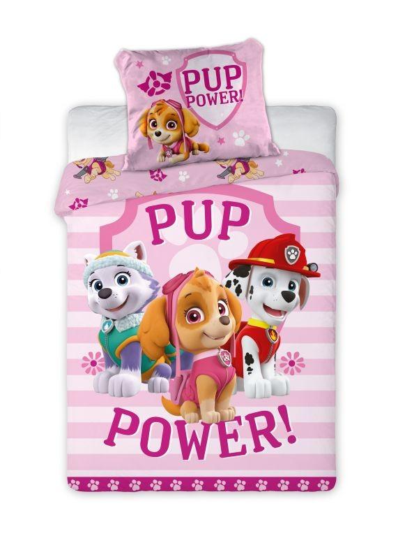 Povlečení do postýlky Paw Patrol Pup Power 100/135, 40/60