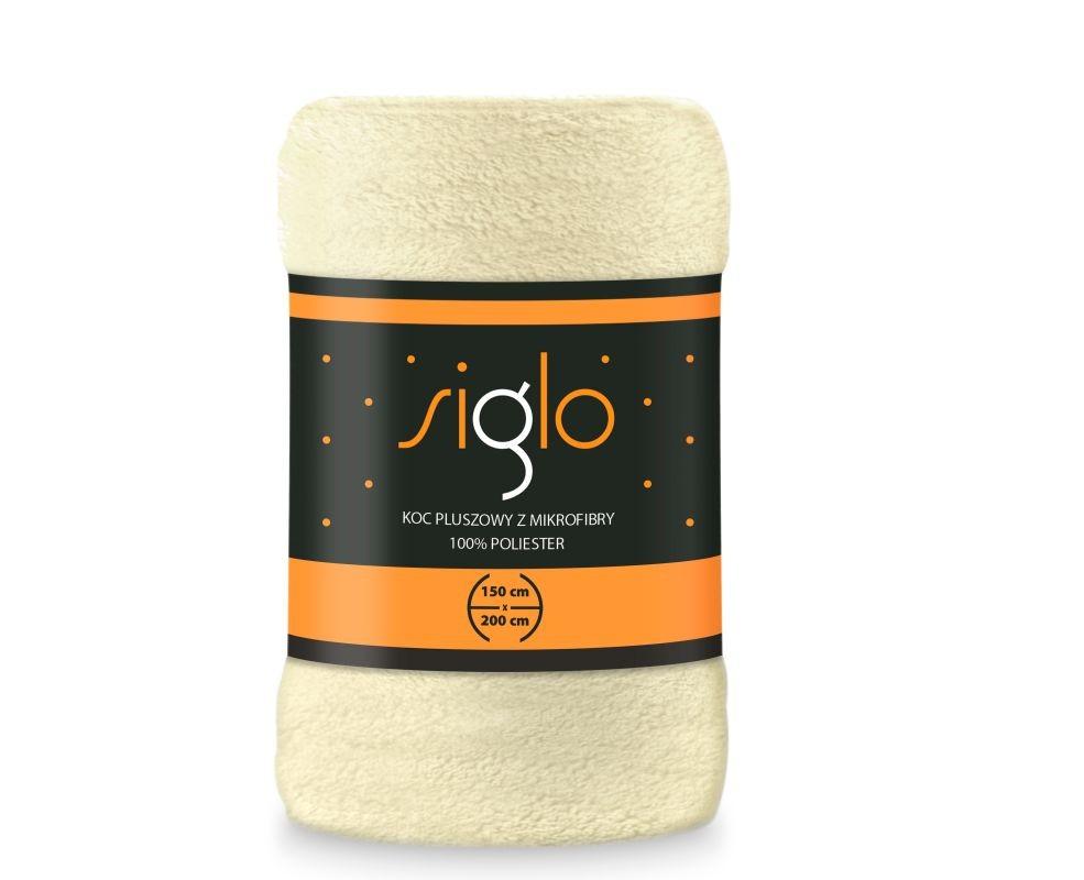 FARO Deka mikroplyš super soft smetanová  Polyester, 150/200 cm