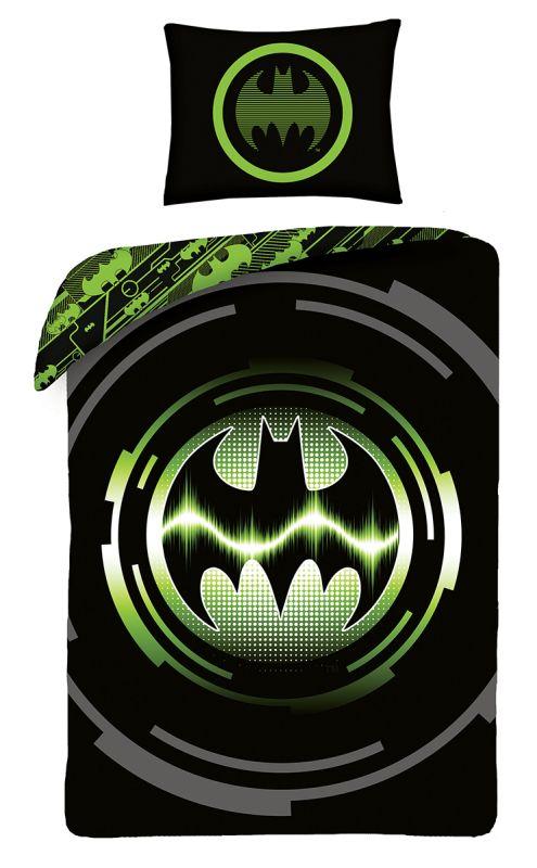 HALANTEX Povlečení Batman green  Bavlna, 140/200, 70/90 cm