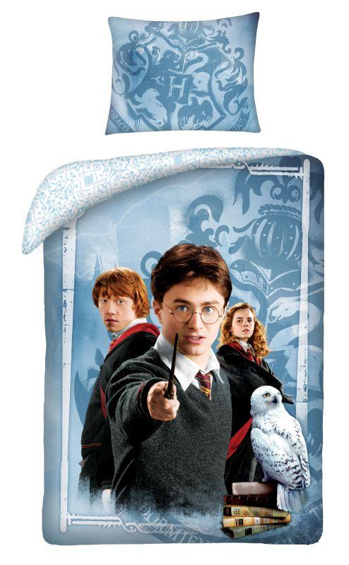 HALANTEX Povlečení Harry Potter friends  Bavlna, 140/200, 70/90 cm
