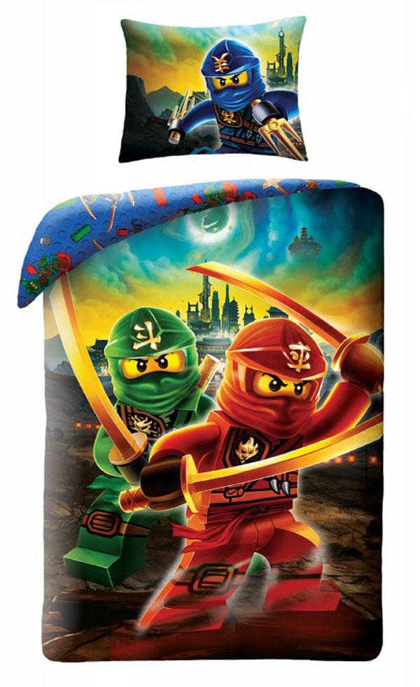 Povlečení Lego Ninjago Kai 140/200, 70/90 - NOVINKY