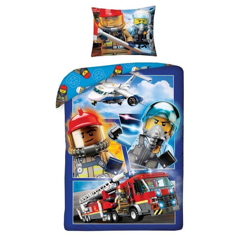Povlečení LEGO City 140/200, 70/90