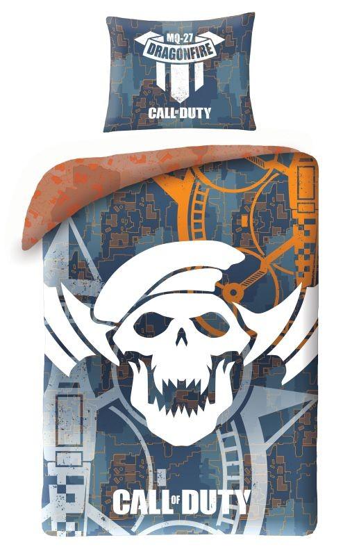 HALANTEX Povlečení Call of Duty Dragonfire  Bavlna, 140/200, 70/90 cm