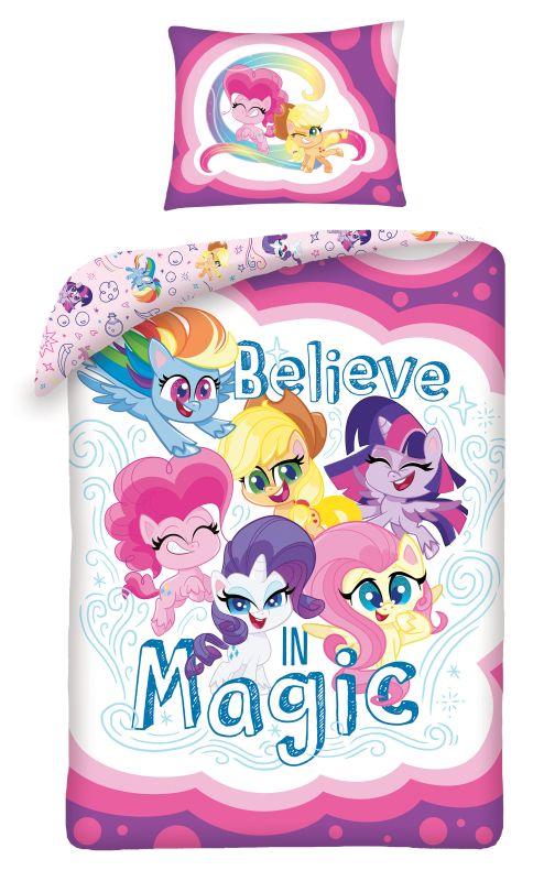 HALANTEX Povlečení ve vaku My Little Pony Believe  Bavlna, 140/200, 70/90 cm