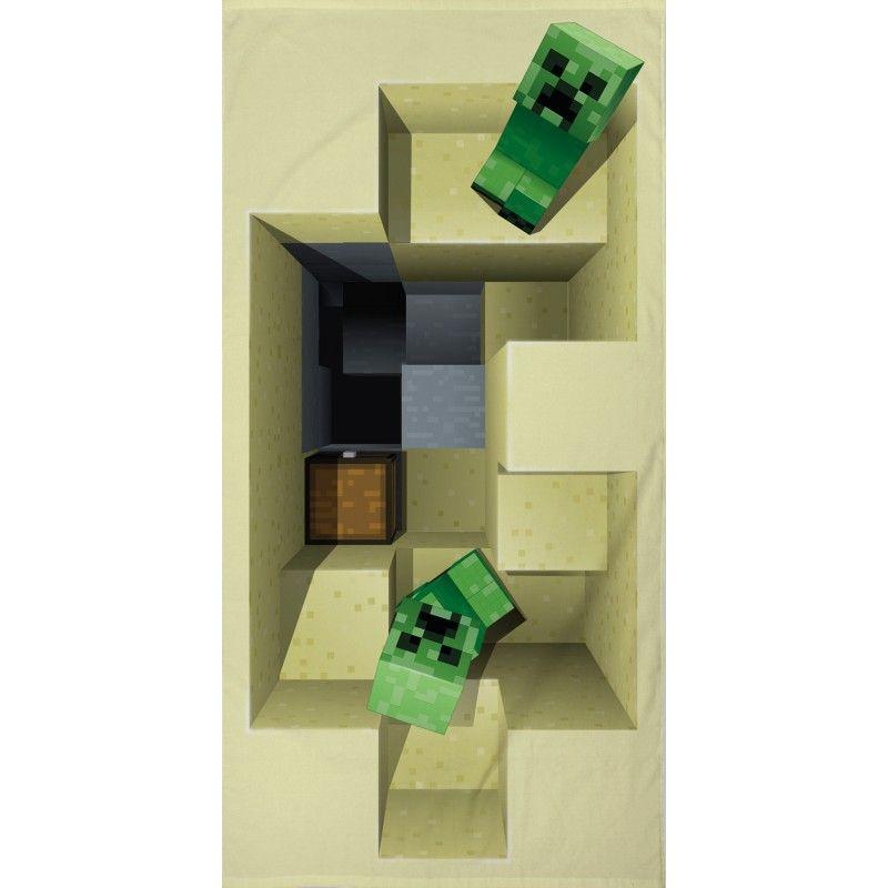 Osuška Minecraft 70/140